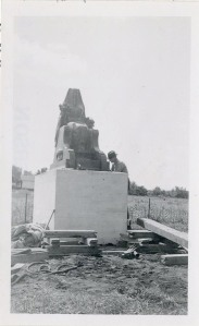 Isis Statue 1939