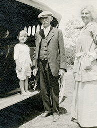 Charles Henry and Lou Henry Hoover, circa 1918. #31-1918-a60