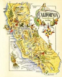 California Map, credit: www.180360.com